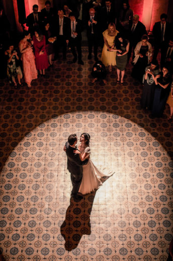 Lancio del bouquet e Primo ballo033