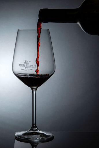 Osteria Castello bicchiere